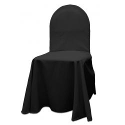 Универсальный чехол на стул цвет черный