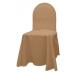 Универсальный чехол на стул цвет бежевый