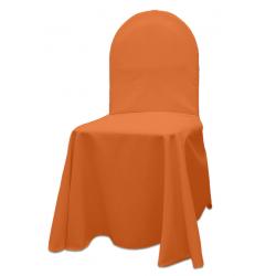 Универсальный чехол на стул цвет оранжевый