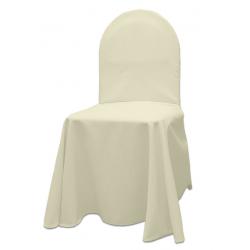 Универсальный чехол на стул цвет шампань