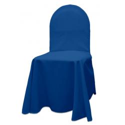 Универсальный чехол на стул цвет синий
