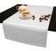 Дорожки на стол 120х45 см. ткань Ричард цвет белый