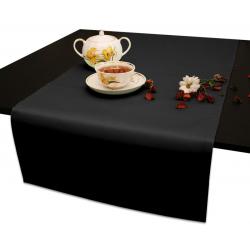 Дорожки на стол 120х45 см. ткань Ричард цвет черный