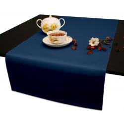 Дорожки на стол 120х45 см. ткань Ричард цвет синий