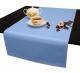 Дорожки на стол 120х45 см. ткань Ричард цвет голубой