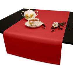 Дорожки на стол 120х45 см. ткань Ричард цвет красный
