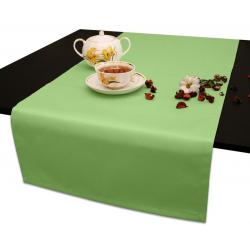Дорожка на стол 120х45 см. Ричард без рисунка цвет салатовый