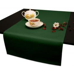 Дорожки на стол 120х45 см. ткань Ричард цвет зеленый
