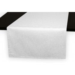 Дорожка на стол 120х45 см. Ричард рисунок 1812 цвет белый