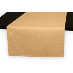 Дорожка на стол 120х45 см. ткань коллекции Ричард рисунок тонкий вензель 1812 цвет бежевый