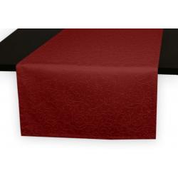 Дорожка на стол 120х45 см. Ричард рисунок 1812 цвет бордовый 191862
