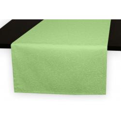 Дорожка на стол 120х45 см. ткань коллекции Ричард рисунок тонкий вензель 1812 цвет салатовый