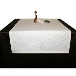 Дорожка на стол 120х45 см. ткань Flora цвет 1 шампань пр-во Турция