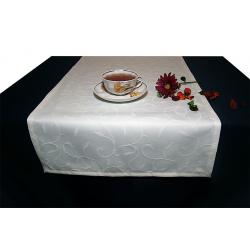 Дорожка на стол 120х45 см. ткань Liza цвет 1 шампань пр-во Турция