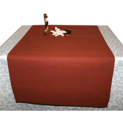 Дорожка на стол 120х45 см. ткань Menorca 1379 терракот. Испания
