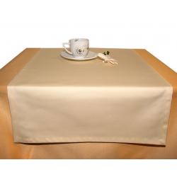 Дорожка на стол 120х45 см. ткань Saten цвет 51 светло-желтый пр-во Испания