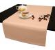 Дорожка на стол 120х45 см. ткань Duz Saten цвет персиковый пр-во Турция