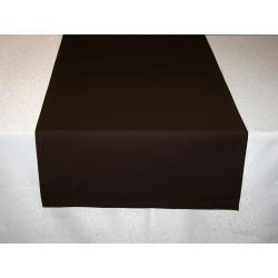 Дорожка на стол 120х45 см. ткань Menorca 1434, цвет темно-коричневый. Испания