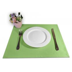 Подтарельники 45х35 см. ткань Ричард без рисунка цвет салатовый