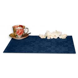 Подтарельники 45х35 см. ткань Ричард с цветочным рисунком цвет синий