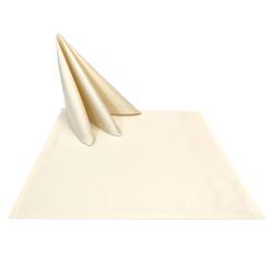 Салфетки 45х45 см ткань Ричард без рисунка цвет шампань