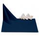 Салфетки 45х45 см ткань Ричард без рисунка цвет синий