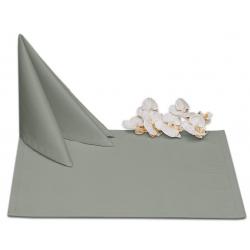 Салфетки 45х45 см ткань Ричард без рисунка цвет серый