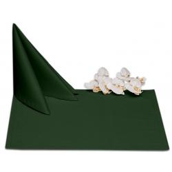 Салфетки 45х45 см ткань Ричард без рисунка цвет зеленый