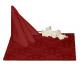 Салфетки 45х45 см ткань Ричард 1589 (цветы) цвет бордовый