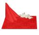 Салфетки 45х45 см ткань Ричард 1589 (цветы) цвет красный