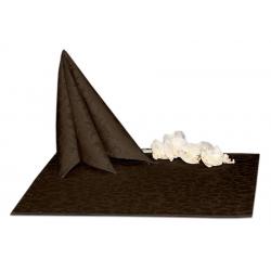 Салфетки 45х45 см ткань Ричард 1751 (крупный вензель) цвет коричневый