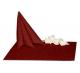 Салфетки 45х45 см ткань Ричард 1751 (крупный вензель) цвет бордовый