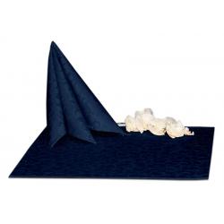 Салфетки 45х45 см ткань Ричард 1751 (крупный вензель) цвет синий