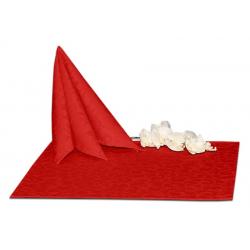 Салфетки 45х45 см ткань Ричард 1751 (крупный вензель) цвет красный