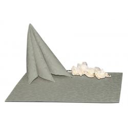 Салфетки 45х45 см ткань Ричард 1751 (крупный вензель) цвет серый