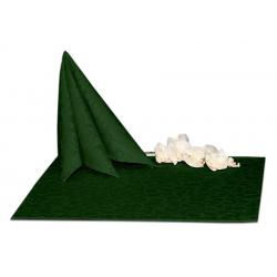 Салфетки 45х45 см ткань Ричард 1751 (крупный вензель) цвет зеленый