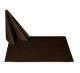 Салфетки 45х45 см ткань Ричард 1812 (тонкий вензель) цвет коричневый
