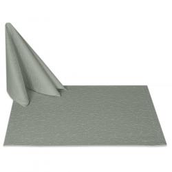 Салфетки 45х45 см ткань Ричард 1812 (тонкий вензель) цвет серый