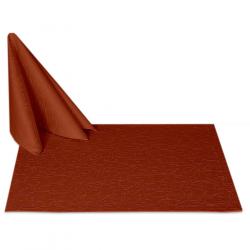 Салфетки 45х45 см ткань Ричард 1812 (тонкий вензель) цвет терракотовый