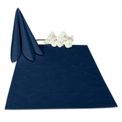 Салфетки 45х45 см ткань Ричард 2131 (круги) цвет синий