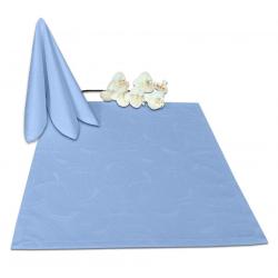 Салфетки 45х45 см ткань Ричард 2131 (круги) цвет голубой