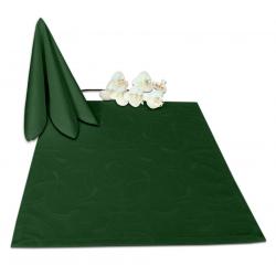 Салфетки 45х45 см ткань Ричард 2131 (круги) цвет зеленый