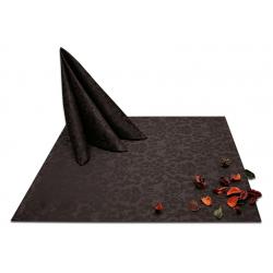 Салфетки 45х45 см ткань Журавинка 1472 (цветы) цвет коричневый