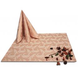 Салфетки 45х45 см ткань Мати 1625 (перья) цвет бежевый