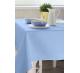Скатерть квадратная ткань Ричард цвет голубой