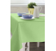 Скатерть прямоугольная с пропиткой без рисунка цвет салатовый