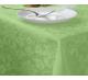 Скатерть прямоугольная с водоотталкивающей пропиткой ткань Ричард 1589 (цветы) цвет салатовый