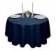 Скатерть круглая ткань Ричард 1751 цвет синий