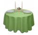Скатерть круглая ткань Ричард 1751 цвет салатовый