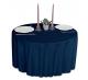 Скатерть круглая ткань Ричард 1812 цвет синий